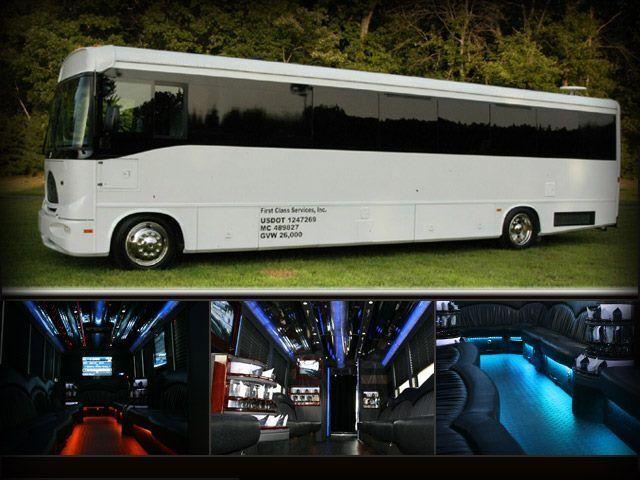 San Diego Greek Frat Sorority Limousine Bus Rental Services